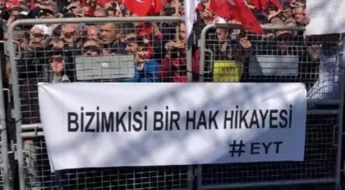 Emeklilikte yaşa takılan 2 milyon kişi İstanbul'da toplanıyor