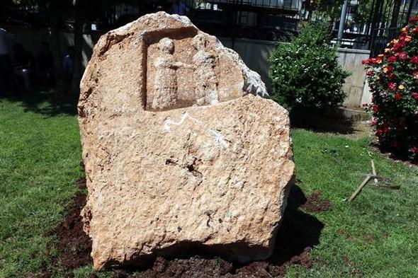 Adıyaman'da Roma dönemine ait ''ayrılık'' figürü bulundu