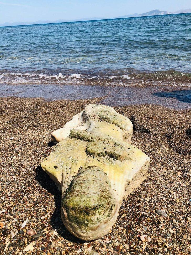 Datça'da denizden tarih çıktı
