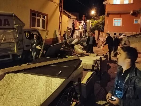 Ordu'da heyelan kabusu: 15 ev yıkıldı