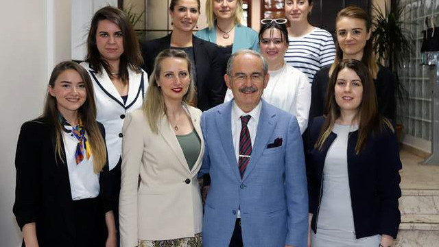Kadın girişimciler Büyükerşen'i ziyaret etti