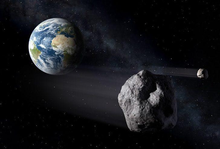 Bilim insanları açıkladı ! 2029'da Dünya'yı teğet geçecek