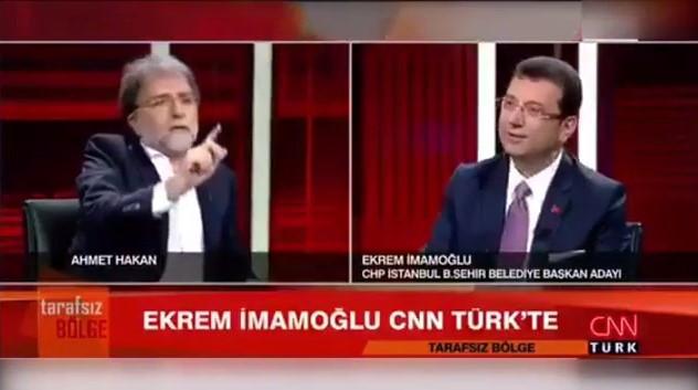 İmamoğlu'ndan Ahmet Hakan'a: Savunacaksan çağır onla konuşayım