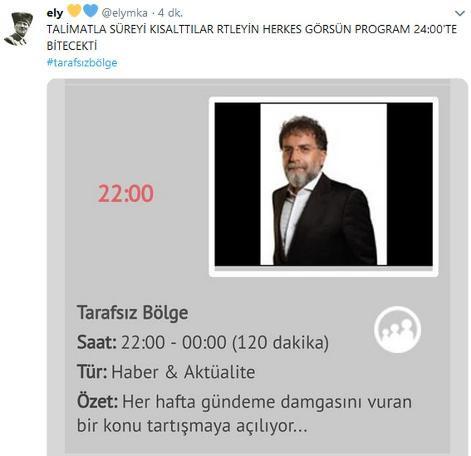 Ahmet Hakan'a sosyal medyada tepki yağmuru !
