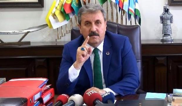 BBP lideri Destici'den, Bahçeli ve Erdoğan'a çok sert Öcalan çıkışı
