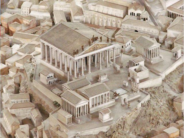 Arkeolog Antik Roma kentinin birebir aynısını 36 yılda tamamladı