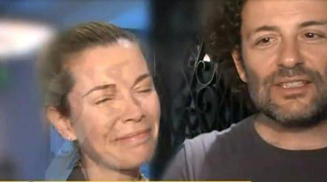 Begüm Kütük gözyaşlarını tutamadı
