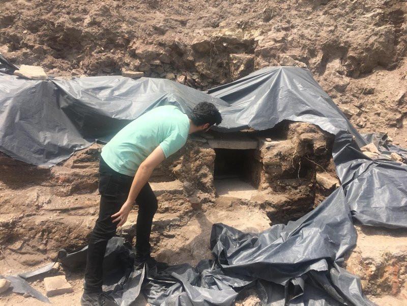 İnşaat kazısında kalıntılar bulundu, çalışmalar anında durduruldu
