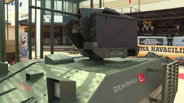 İşte kamikaze insansız kara aracı: Delü