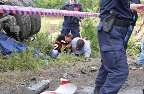Muğla'da kaza ! Sinir krizi geçirdiler...