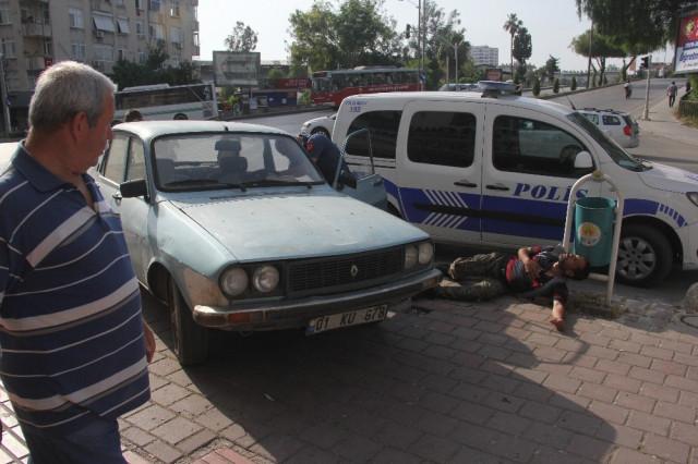 Adana'da şaşkına çeviren olay !