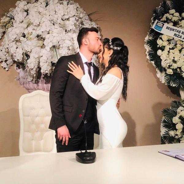 Ünlü gelin adayı Naz Mila evlendi