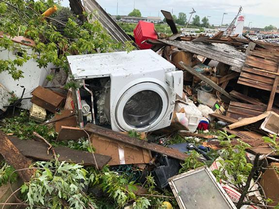 ABD'yi fırtına ve sel vurdu