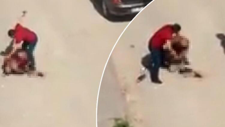 Sokak ortasında vahşet ! Defalarca bıçaklayarak öldürdü