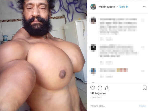 Brezilyalı ''Hulk'' sosyal medyayı salladı
