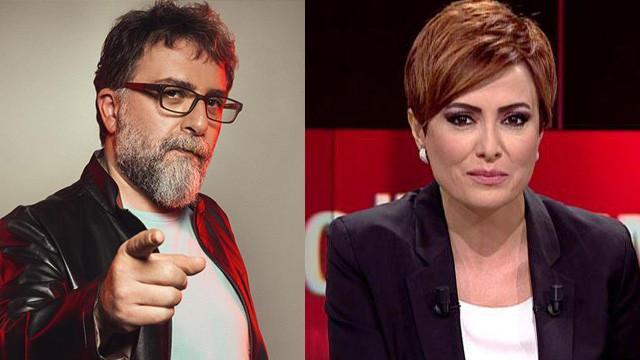 Meğer Ahmet Hakan, Didem Arslan'ı kovdurmaya çalışmış