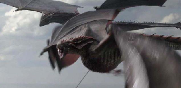 Game of Thrones'ta ejderha 'Rhaegal' böyle öldürülmüş