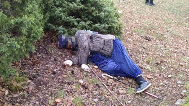Kayıp kadın arazide ölü bulundu