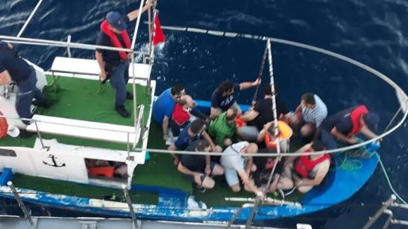 FETÖ'cüler Yunanistan'a kaçarken yakalandılar