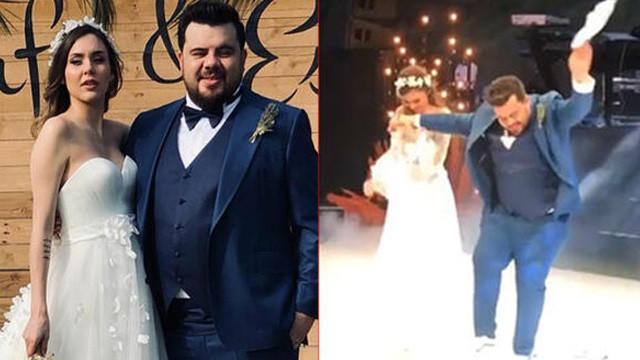 Eser Yenenler ile Berfu Yıldız evlendi
