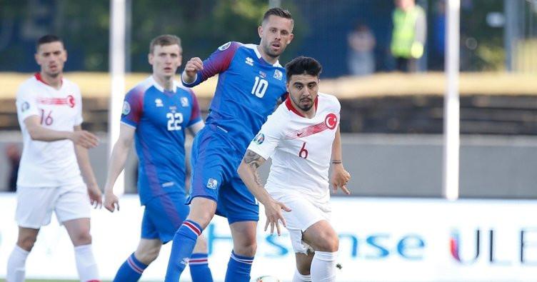 Türkiye İzlanda'da fırsat tepti: İzlanda 2 - Türkiye 1