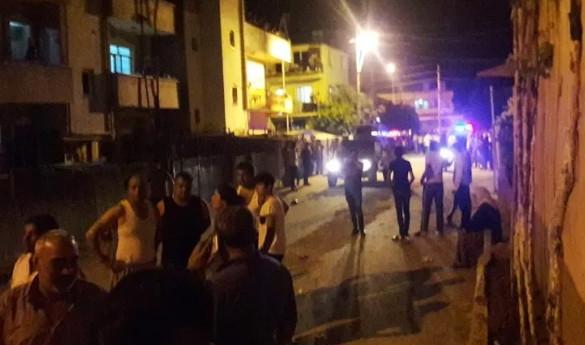 Suriyeliler mahalleyi savaş alanına çevirdi: 11 yaralı !