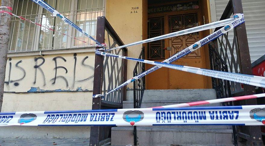 5 katlı bina tahliye edildi