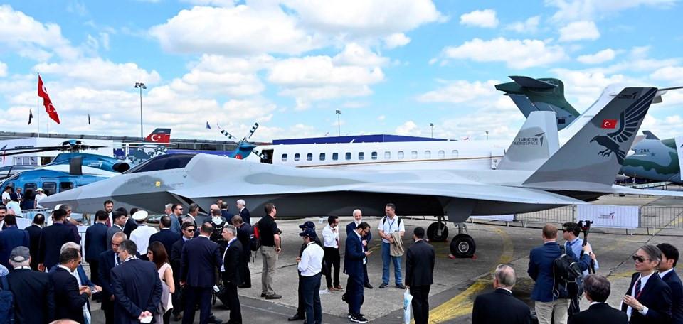 Türkiye'nin yerli savaş uçağı ortaya çıktı