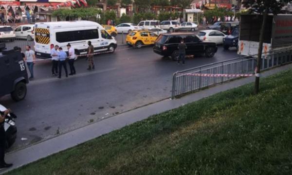İstanbul'da araca silahlı saldırı: 4 yaralı