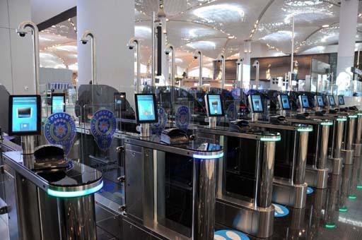 İstanbul Havalimanı'nda yeni dönem ! Sadece 18 saniye sürecek