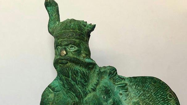 Isparta'da ''Viking Savaşçısı'' ele geçirildi