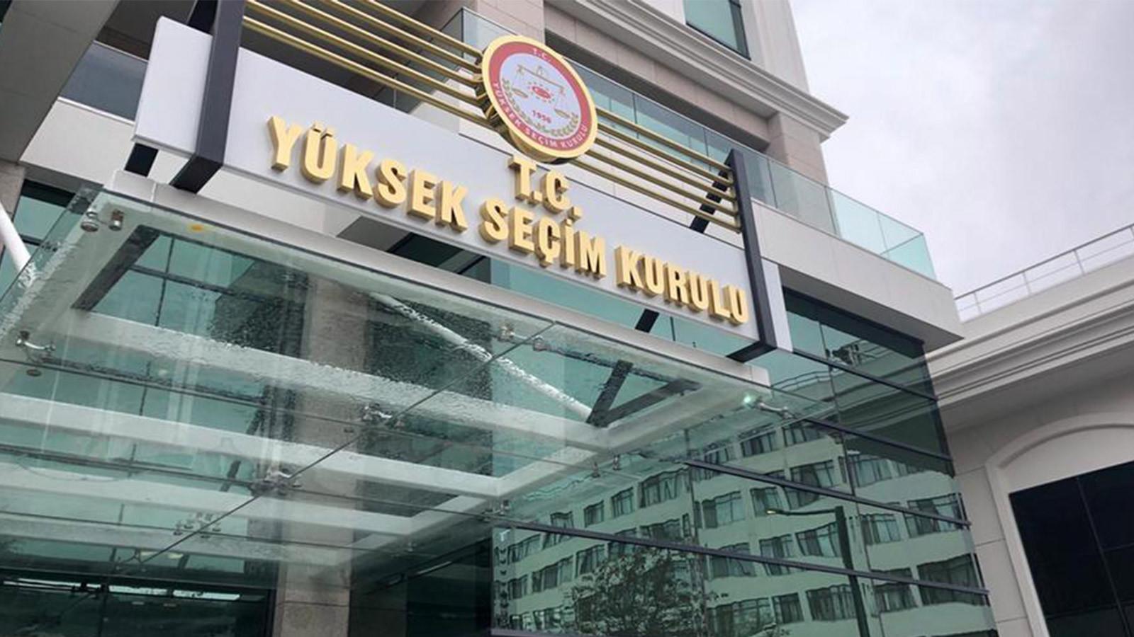 AK Parti ve CHP başvurmuştu... YSK'dan mühür kararı