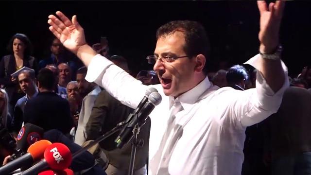 İmamoğlu rekorla geldi ! Erdoğan'a da fark attı