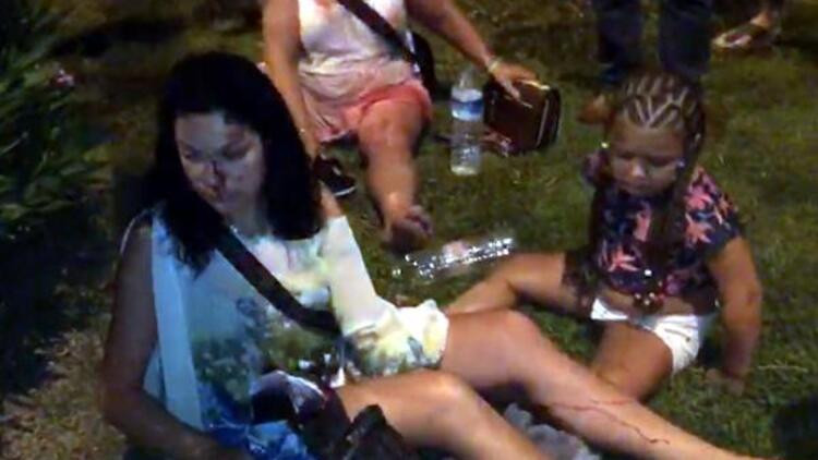 Turistler dehşeti yaşadı ! Alanya'da can pazarı