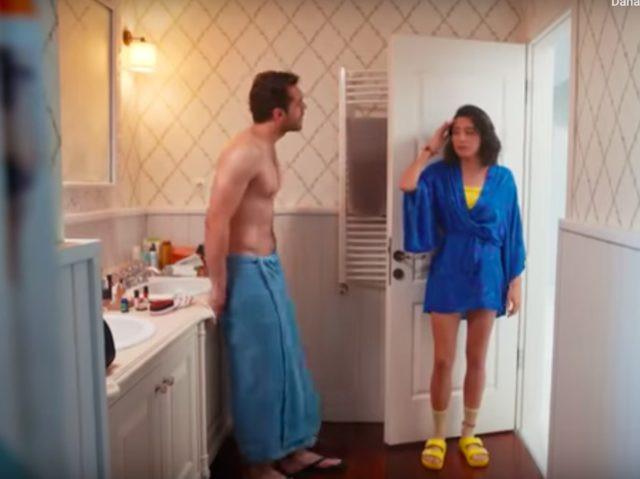 Her Yerde Sen dizisinde olay banyo sahnesi