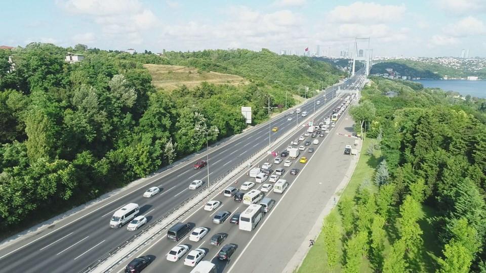 Köprülerde onarım başladı; trafik arapsaçına döndü!