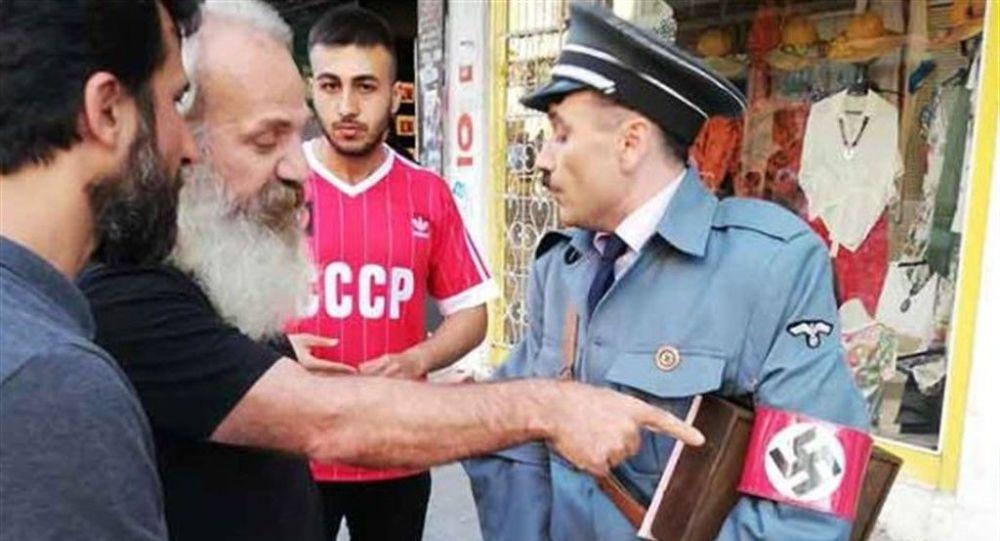 Kadıköy'de Hitler şaşkınlığı !