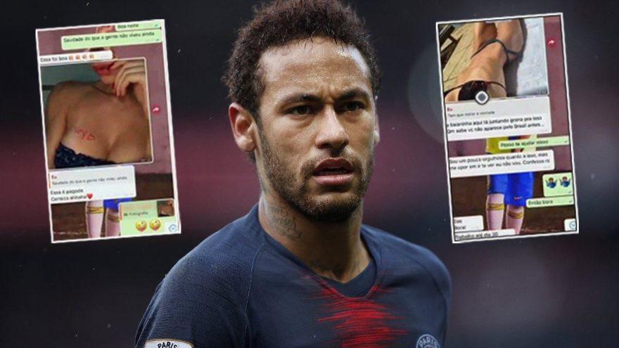 Neymar'ın tecavüz davasında şoke eden görüntüler