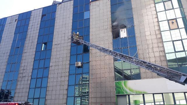 Saadet Partisi İstanbul İl Başkanlığı'nda yangın