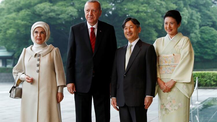 Erdoğan, Japon İmparatoru ile görüştü