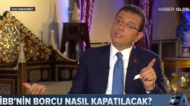 İmamoğlu canlı yayında açıkladı: AK Parti randevu vermedi