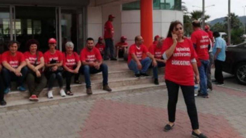 MHP'li başkan DİSK üyesi işçileri işten çıkardı !