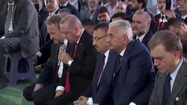 Erdoğan, şehitler için Kur'an-ı Kerim okudu