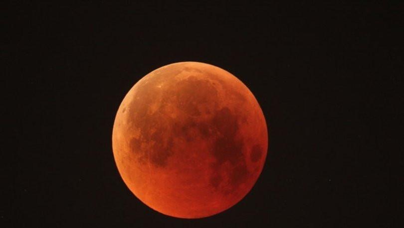 Bu gece gökyüzüne bakmayı unutmayın ! Ay tutulması Türkiye'den de izlenebilecek