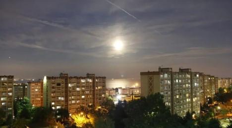 ''Parçalı Ay Tutulması'' İstanbul'dan böyle görüntülendi