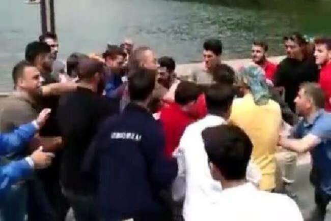 Uzungöl'de Kürdistan kavgası ! 9 kişi sınır dışı edildi...