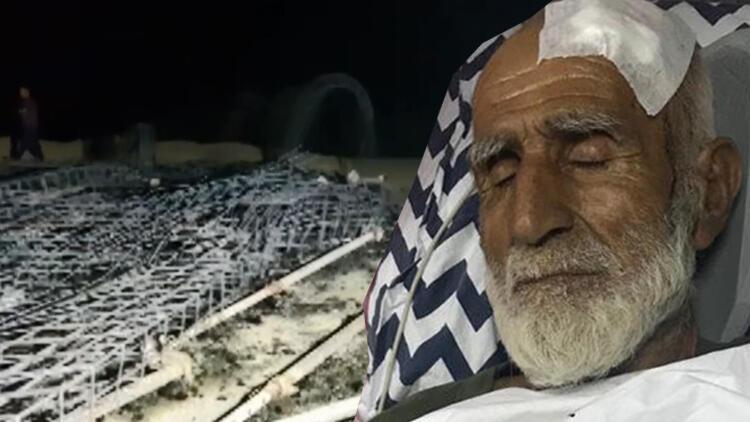 Köyüne dönen yaşlı adamı dövüp, evini yaktılar