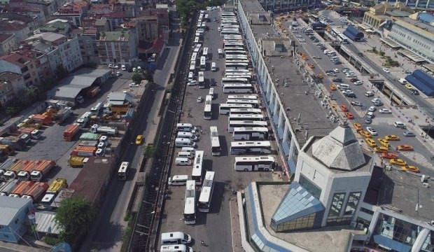 İstanbul'da otogara giriş ve çıkışlar kapatıldı !