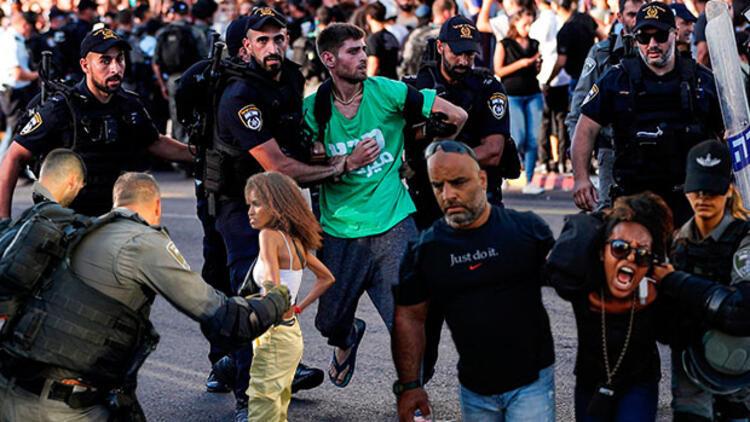 İsrail sokakları alev alev !