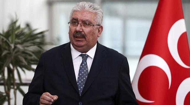 MHP'li Yalçın: Fırat'ın doğusuna operasyon kaçınılmaz